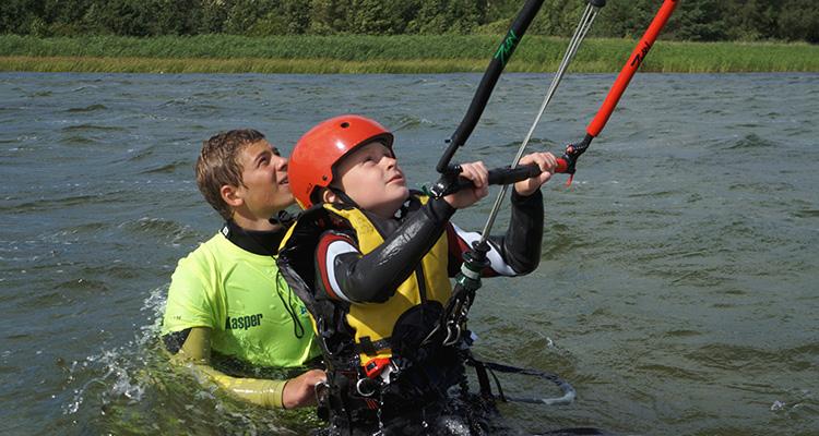 Nauka Kitesurfingu dla dzieci