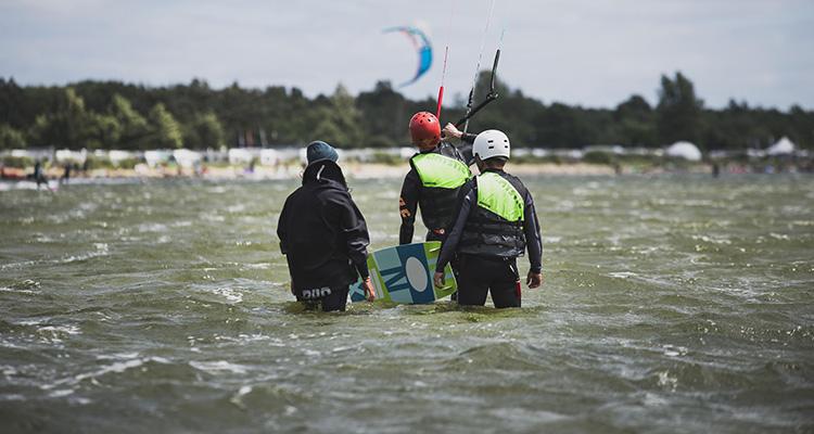 Nauka Kitesurfingu na Helu