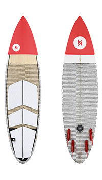 Deska do kitesurfingu typu Surfboard