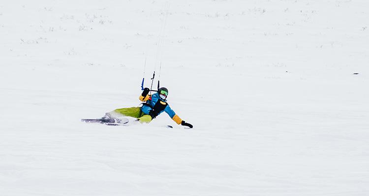 kurs snowkite - kite zone norway