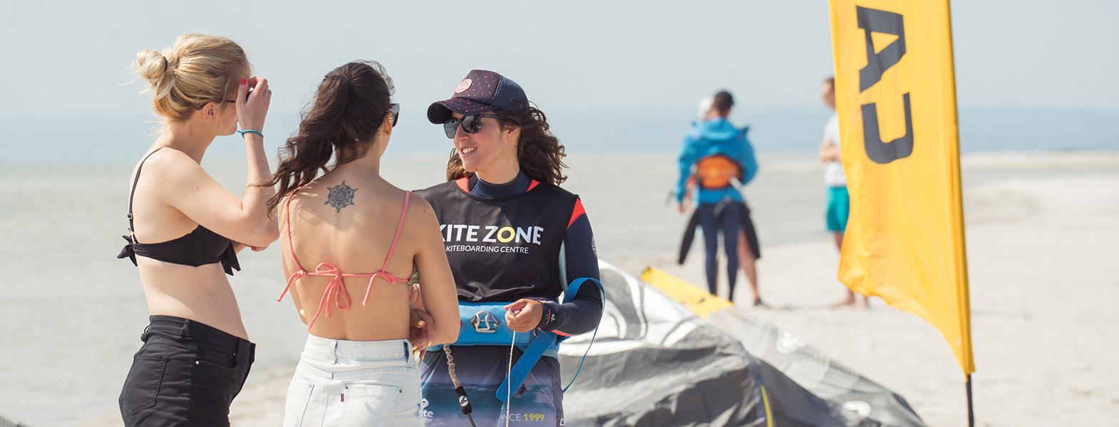 Kurs kitesurfingu 1