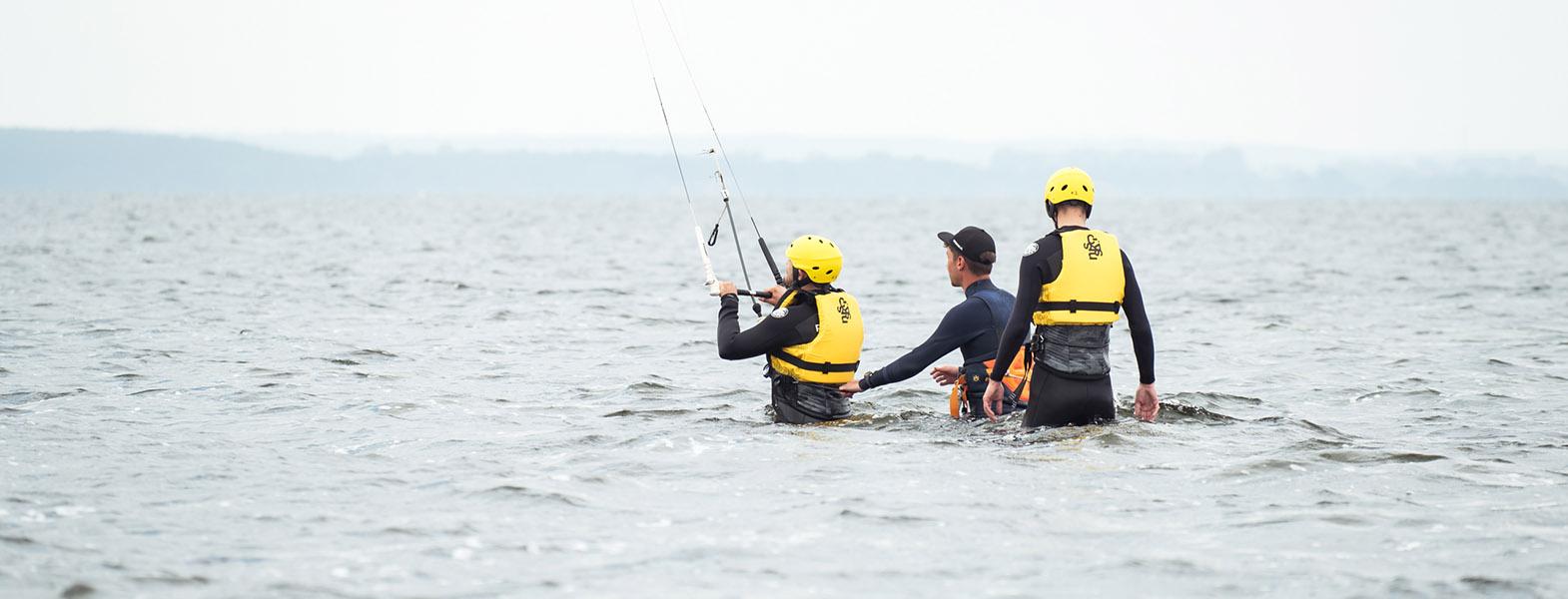 Kurs kitesurfingu 2