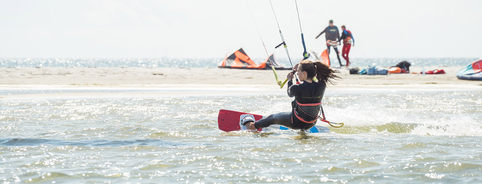Kurs kitesurfingu 3
