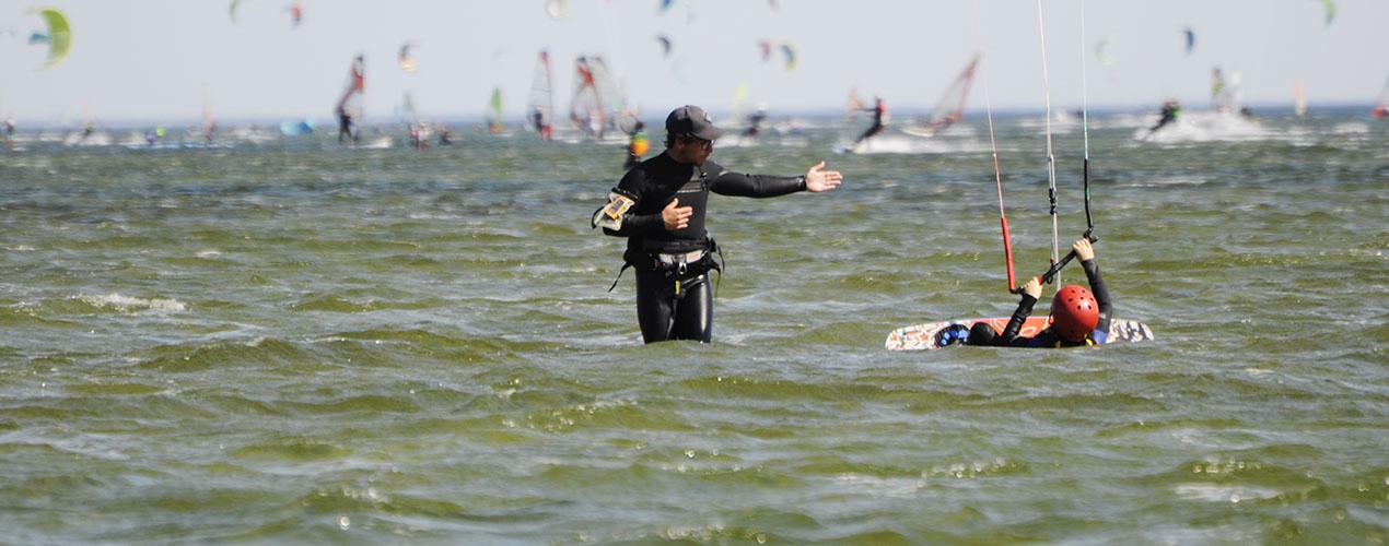 lekcja kitesurfingu