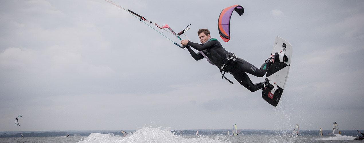 lekcja kitesurfingu z video analizą